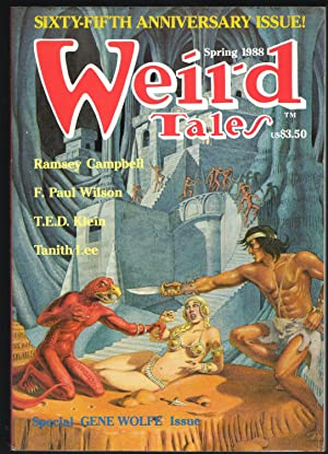 Weird Tales Number 290, Vol 50, No: George H. Scithers,