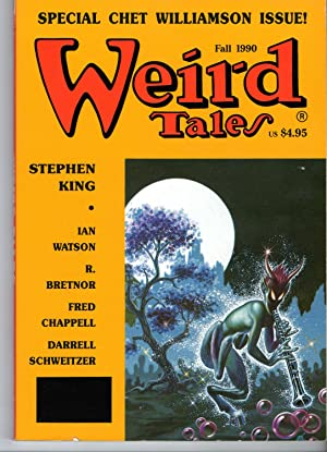 Weird Tales Number 298 Vol 52, No: George H. Scithers,