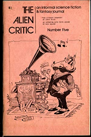 The Alien Critic - May 1973 Number 5 - Vol 2, No. 2