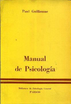 Manual de psicología: Guillaume, Paul