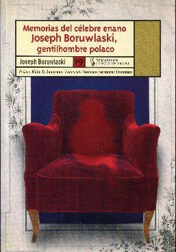 Memorias del célebre enano Joseph Boruwlaski, gentilhombre: Boruwlaski, Joseph
