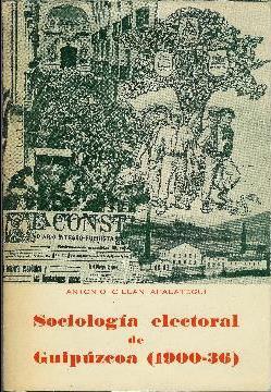 Sociología electoral de Guipúzcoa (1900-1936): Cillan Apelategui, Antonio