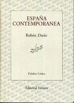 España contemporánea: Darío, Rubén