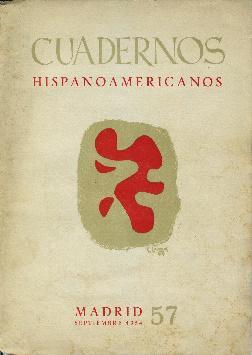 Cuadernos hispanoamericanos. Número 57. Septiembre 1954: Varios: Farre, Luis.