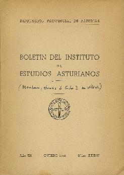 Boletín del Instituto de Estudios Asturianos. Año: Varios: Señas Encinas,