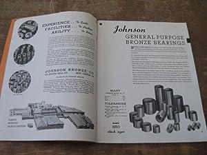 Johnson Bronze: Quality Bushings, Bearings, Bar Bronze, Babbitt. Catalog No. 410: Johnson Bronze ...