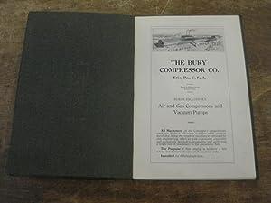 Noiseless Air Compressors Catalog Number 44: The Bury Compressor Company