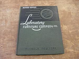 Catalog and Manual: Scientific Laboratory Furniture and: Laboratory Furniture Company