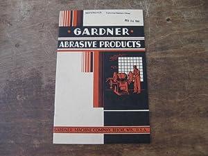 Gardner Abrasive Products: Gardner Machine Company