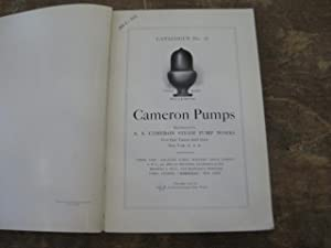 Cameron Pumps Catalogue Number 36: A. S. Cameron Steam Pump Works