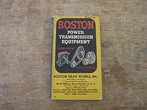 Boston Power Transmission Equipment, Catalog Number 53: Boston Gear Works,