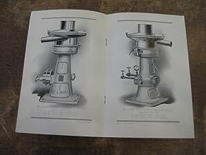 De Laval Centrifugal Milk Clarifier: The De Laval Separator Company