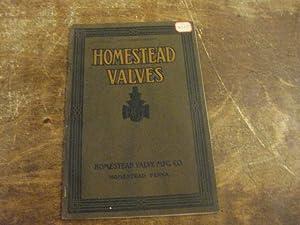 Homestead Valves Catalog No. 33, 1926-1927: Homestead Valve Manufacturing