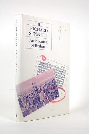 An Evening of Brahms: Richard Sennett