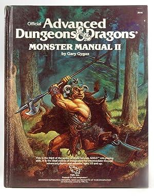 First Printing Monster Manual II Dungeons Dragons: Gary Gygax