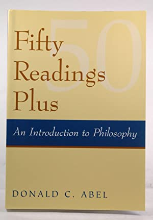 Fifty Readings Plus: An Introduction To Philosophy