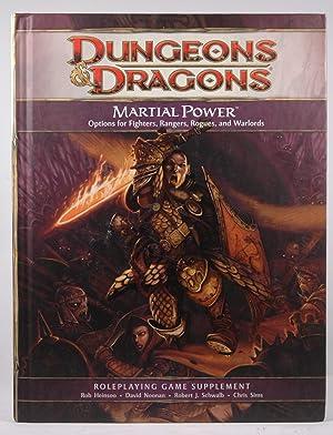 Martial Power: A 4th Edition D&D Supplement: Chris Sims,Robert J.