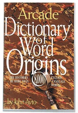 Dictionary of Word Origins: Ayoto, John
