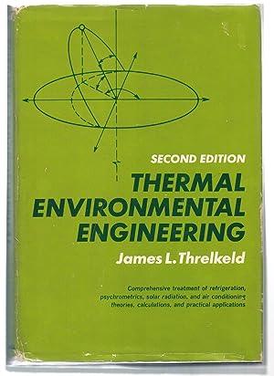 Thermal Environmental Engineering: Threlkeld, James L.