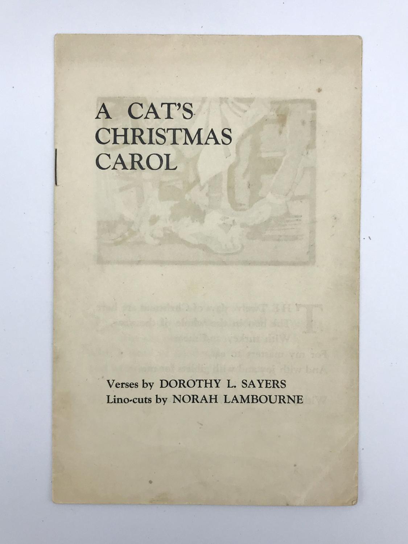 A Cat's Christmas Carol: SAYERS, Dorothy L.