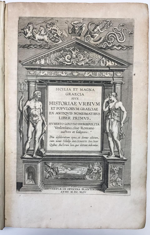 Sicilia et Magna Graecia Sive Historiae Urbium et Populorum Graeciae ex Antiquis Nomismatibus Liber...