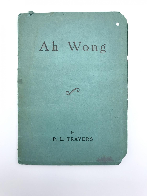 Ah Wong - TRAVERS, P. L.