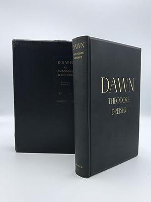 Dawn: A History of Myself: Dreiser, Theodore