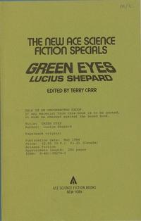 Green Eyes: SHEPARD, Lucius