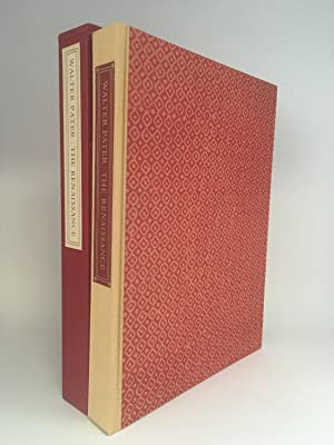 The Renaissance. Studies in Art and Poetry: LIMITED EDITIONS CLUB] PATER, Walter