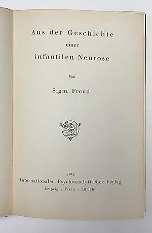 Aus der Geschichte einer infantilen Neurose: FREUD, Sigmund