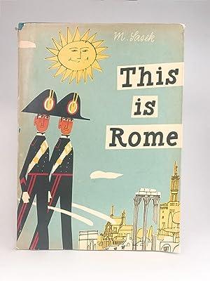 This is Rome: SASEK, Miroslav
