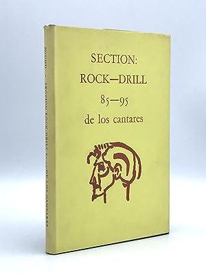 Section: Rock Drill 85-95 de los cantares: POUND, Ezra