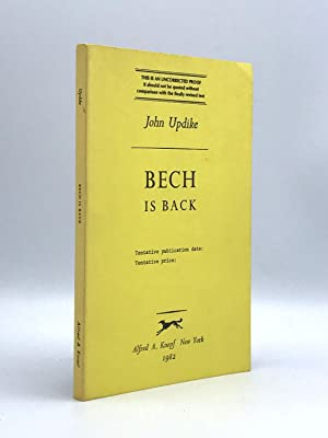 Bech is Back: UPDIKE, John