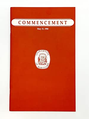 Doctoral Address in:] University of Hartford Commencement May 15, 1988: CARVER, Raymond (1938-1988)