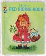 LITTLE RED RIDING-HOOD Tip-Top Elf Book #8646