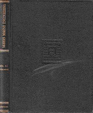 Modern Marine Engineering A Practical Work of: Hardy, A. C.