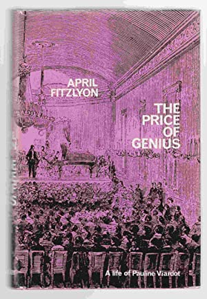 The Price of Genius A Life of: Fitzlyon, April