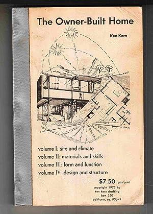 The Owner-Built Home: Kern, Ken