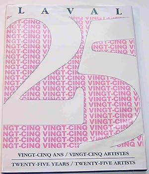 Laval Vingt-Cinq Ans / Vingt-Cinq Artistes : De Roussan, Jacques