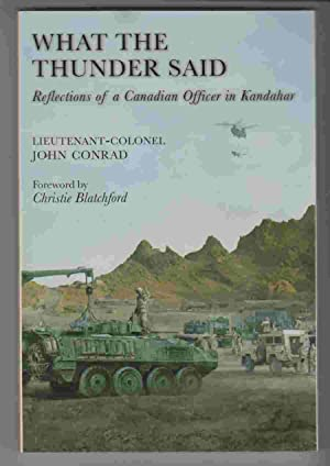 What the Thunder Said Reflections of a: Conrad, John
