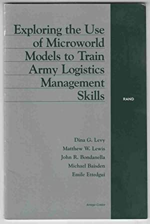 Exploring the Use of Microworld Models to: Levy, Dina G.
