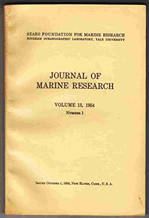 Journal of Marine Research Volume 13, 1954: Anon.
