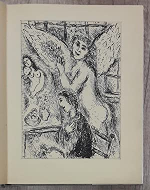 Marc CHAGALL MONOTYPES - 1 original etching