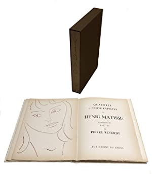 VISAGES - WITH 14 LITHOGRAPHS BY HENRI: Pierre REVERDY