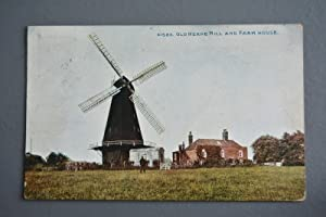 R&L Postcard: Photochrom Old Herne Mill and