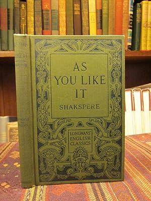 Shakspere's As You Like It. (Longmans' English: Shakspere. (William Shakespeare.