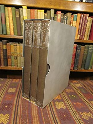 Moby dick rockwell kent three volumes