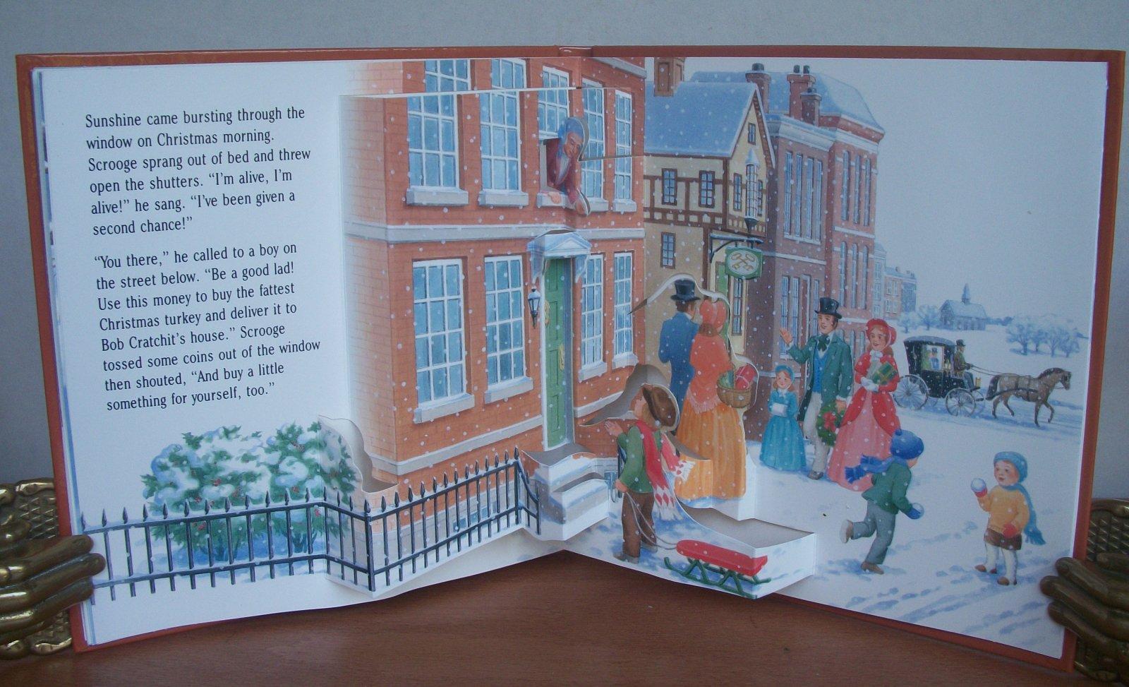 A CHRISTMAS CAROL. A Christmas Treasury Pop-up. by POP-UP BOOK. Charles Dickens story briefly ...