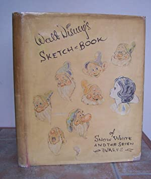 SKETCH BOOK of Snow White and the: DISNEY, Walt.