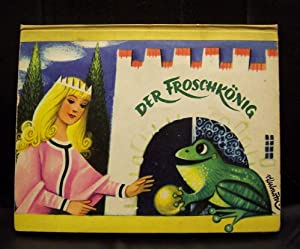 DER FROSCHKONIG. (The Frog King, The Frog: KUBASTA, Voitech. Pop-up